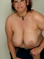 Big female mature tit